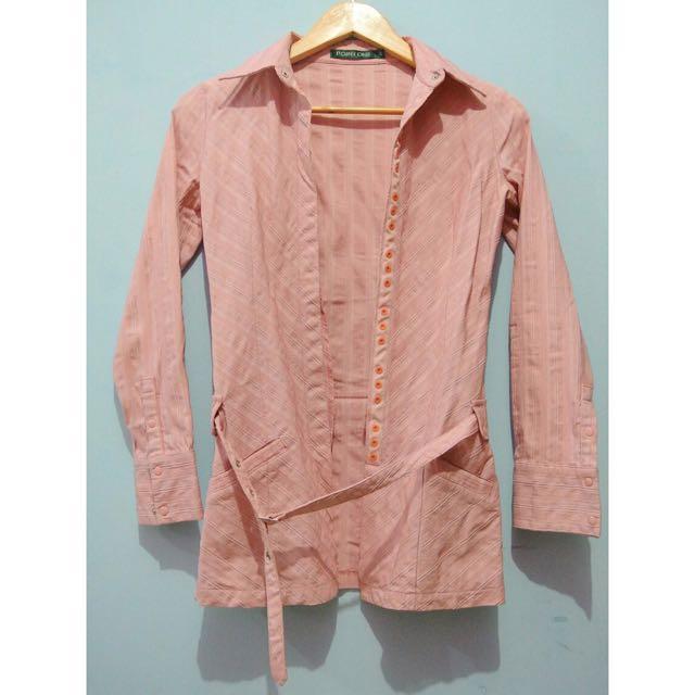 POINT ONE Pink Coat/Blazer