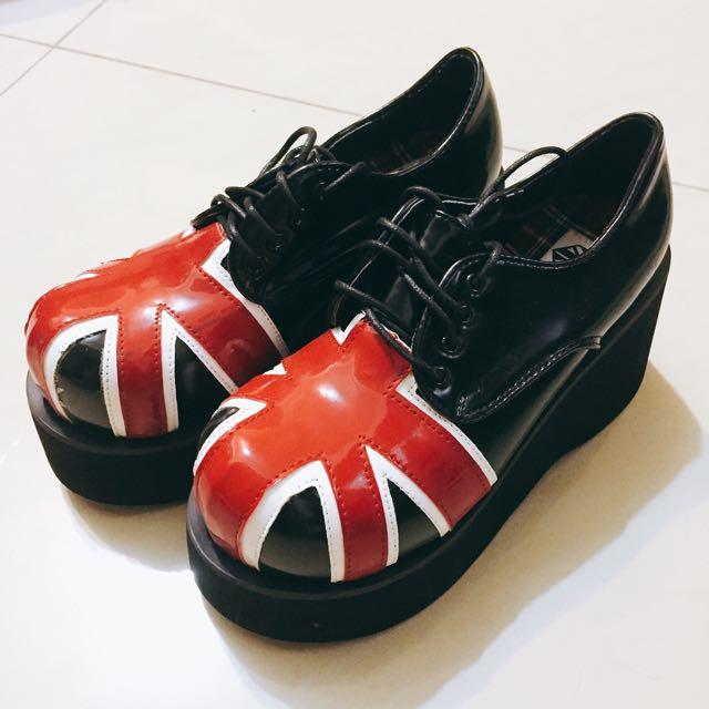 QUEEnCITY厚底鞋