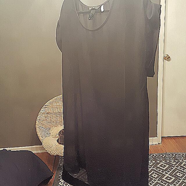 Sheer Dress/Tunic, H&M