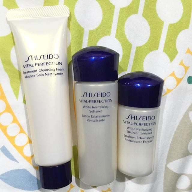 Shiseido Vital-perfection Sample Set