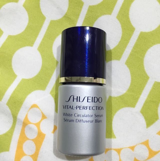 Shiseido Vital-perfection White Circulator Serum 15mL