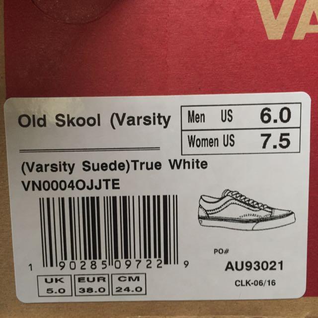 d7378ac0bc Suede Vans (creamy Off White)