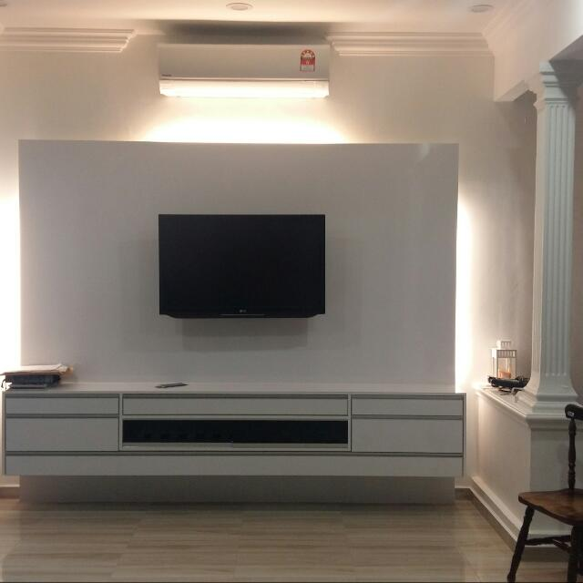 Tv Cabinet Home Furniture Furniture On Carousell