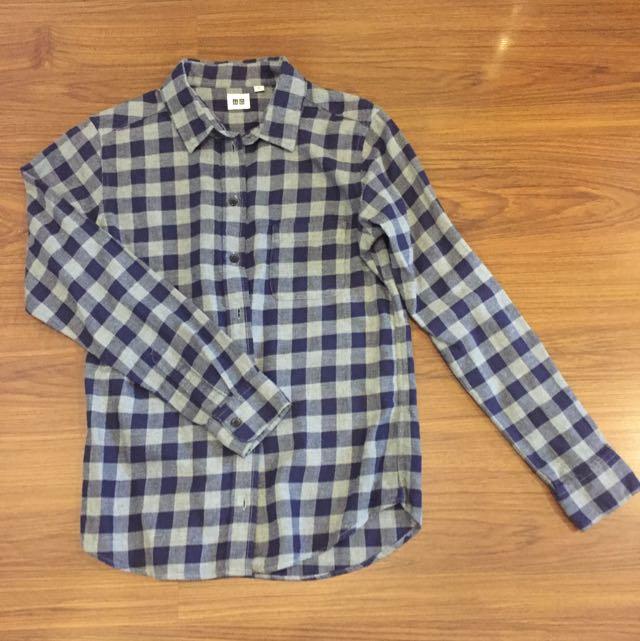 Uniqlo Checkered Polo
