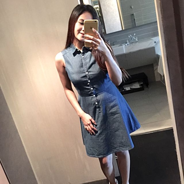 Uniqlo Denim Dress