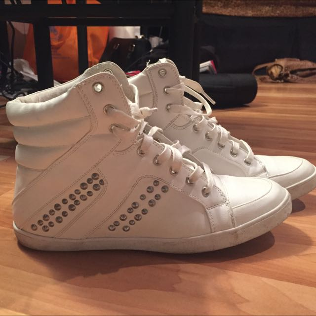 White Skater Shoes