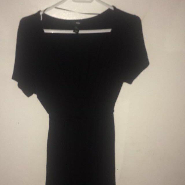Xl Black Dress Hnm