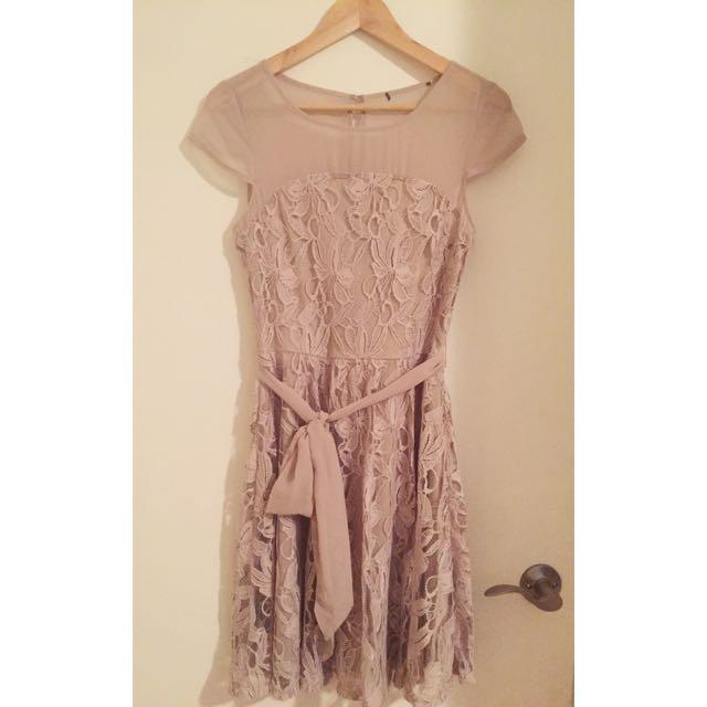 XS Nude Dress