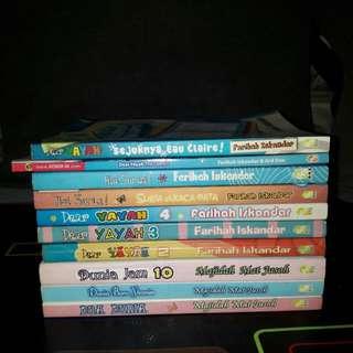 Novel: Farihah Iskandar & Majidah Mat Jusoh