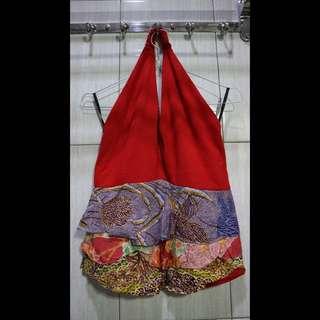[OBRAL] Batik Drupadi 💃🏻 Halter Neck Tops