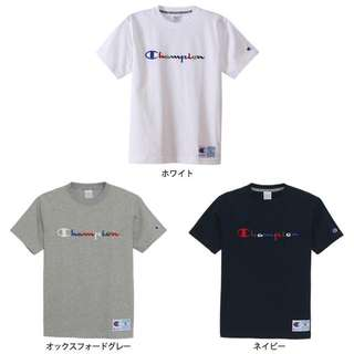 Champion action tee 草寫 電繡 彩紅 彩色 短袖 日線 經銷 公司貨 正品代購