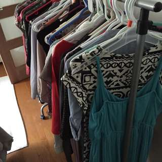 Massive Clothing And Accessory Sale