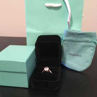 Tiffany & Co Replica Sona Simulated 3 Carat Ring