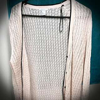 Pale Pink H&M Cardigan
