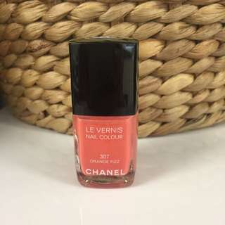 Chanel Le Vernis Nail Colour 307 Orange Fizz Nail Polish