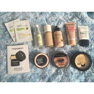 Bulk Face Products