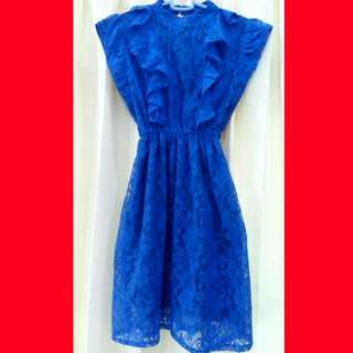 (New) Blue Lace Dress