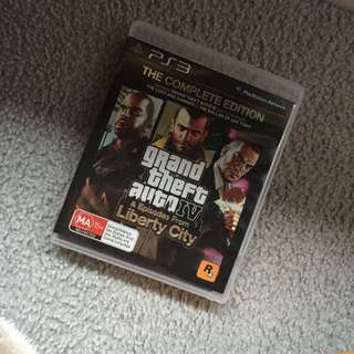 Grand Theft Auto IV & Eps From Liberty City