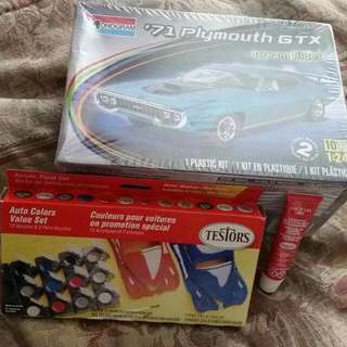 Car Model kit And Accessories