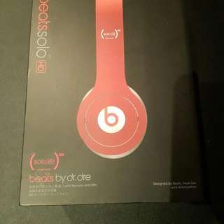 Selling Headphone Beats By Doctor Dre Red Colour