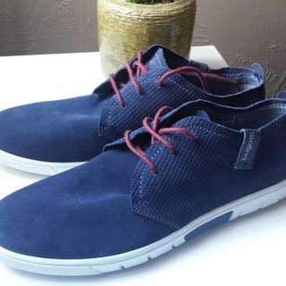Men's Brand NEW with Tags Bugatti Navy Shoes Size 43 EUR/10 US