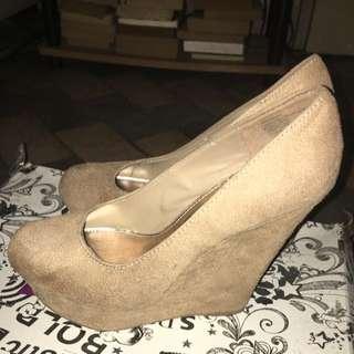 Brash Wedge Shoes