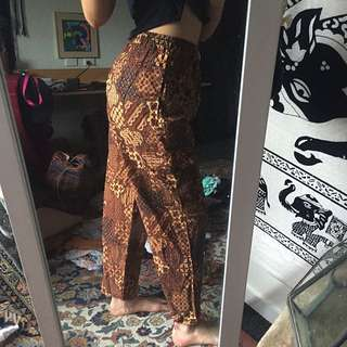 High Waisted Hippie Pants