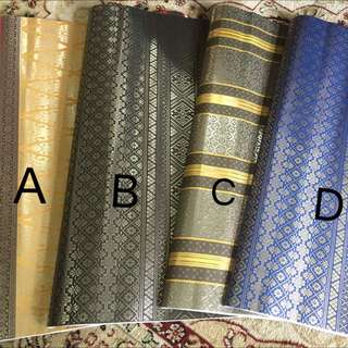 Premium Songket Wrapping Paper