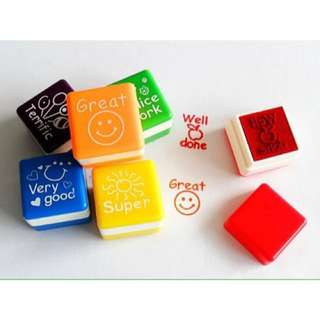 ✔️ Teacher Stamps (set of 6)
