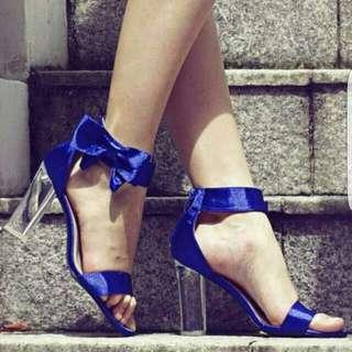 TCL Enchanteur Bow Heels Cobalt