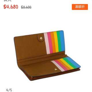 Coach彩虹皮夾~買到賺到.只有一個