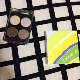 Lancome And Clinique Eyeshadow And Blush Palette