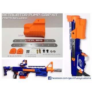 Nerf Retaliator Pump / Shotgun Grip