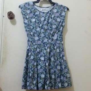 Short Floral Summer Dress