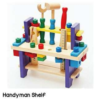 Handy Man Shelf