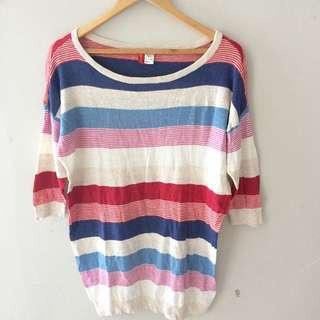 H&M Stripe Sleeve