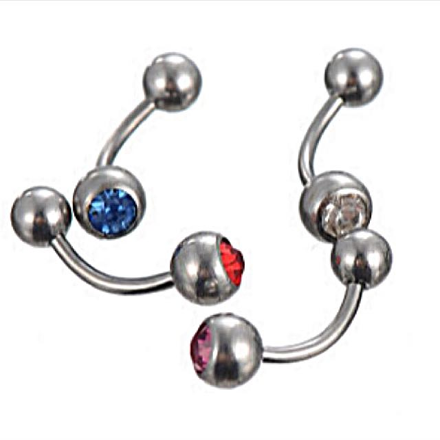 Jewelled Belly Bars