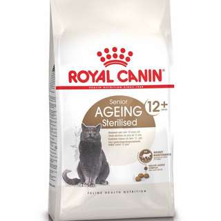 New Royal Canin Senior Ageing 12+ Sterilised
