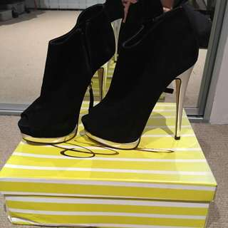 Wanted Shoes Black Heels s5