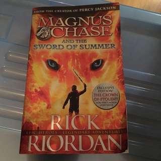 Magnus Chase Book #1 By Rick Riordan