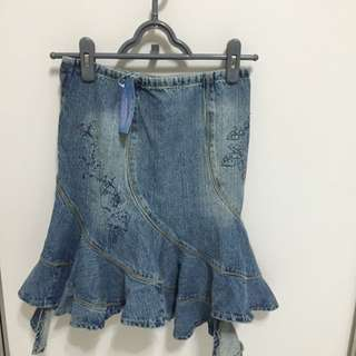 Guess Denim Skirt (for Children) Size 8Y
