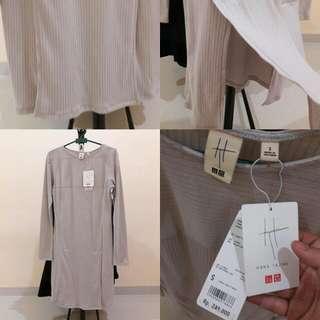 UNIQLO Grey Dress