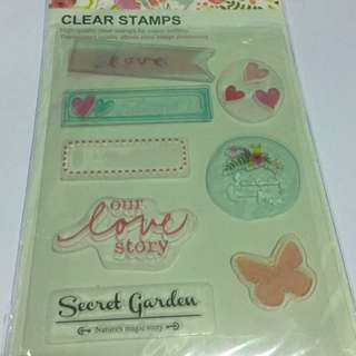 Looking Clear Stamps
