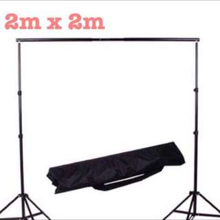 Heavy Duty Portable Back Drop Stand Tripod