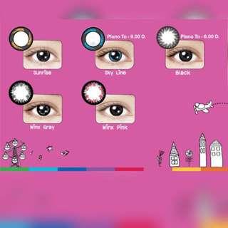 Maxim Lens Pink Series
