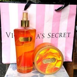 Victoria's Secret Amber Romance Bundle