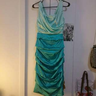 Worn Once Le Chateau XXS ruched Cocktail Dress