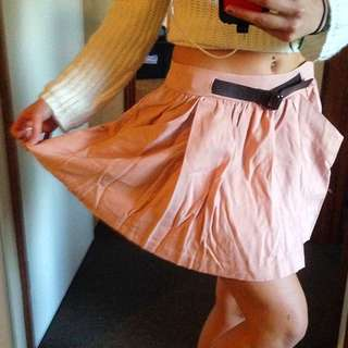 SzSm Pull&Bear Dusty Pink Skirt