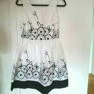 New Sz S Cotton summer Dress
