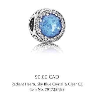Pandora Radiant Hearts Charm